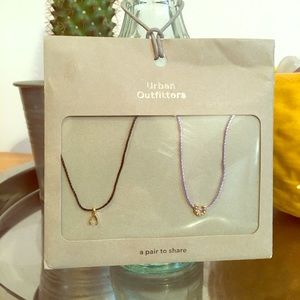 Two Urban Outfitters Necklaces